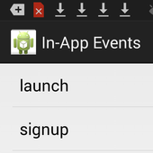 Mobile In-App Events Tester icon