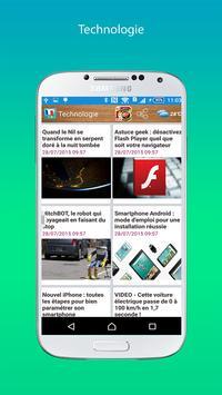 French Voice News apk screenshot
