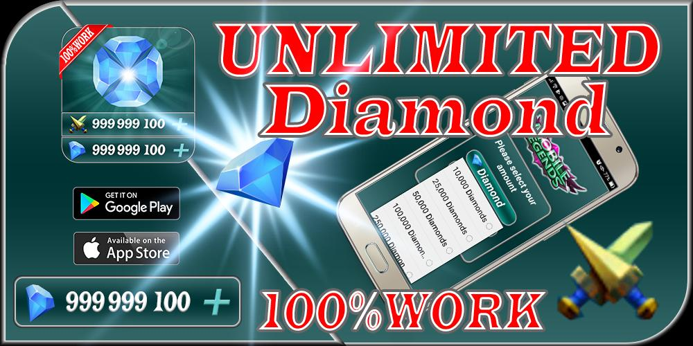 Instant mobile Rewards legends Daily free diamond for