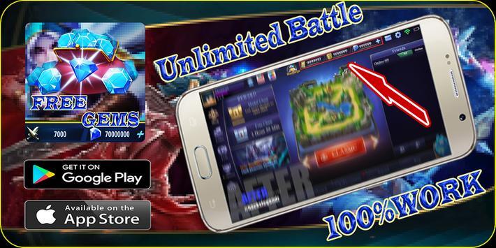fast mobile - legends Daily Rewards free diamond screenshot 3