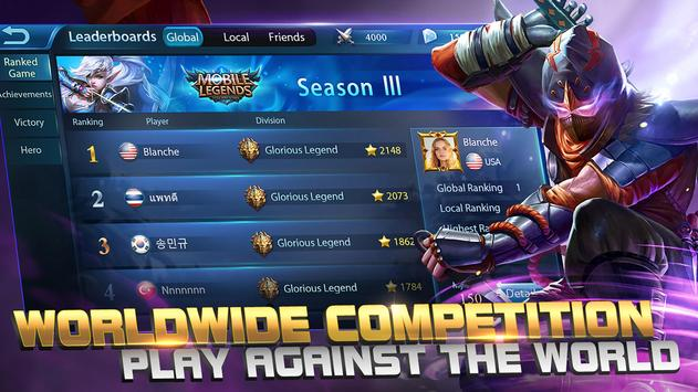 Mobile Legends: Bang bang apk screenshot