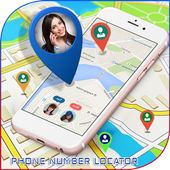 Phone Number Tracker With Location Adress icon