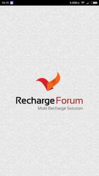 Recharge Forum poster