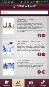 Spear Alliance Insights apk screenshot