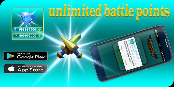 Instant free diamond for mobile legends Rewards for Android