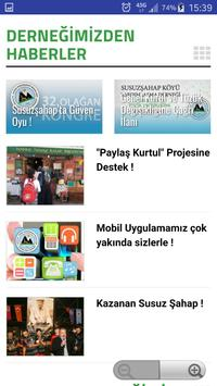Susuzşahap Köyü Derneği screenshot 1