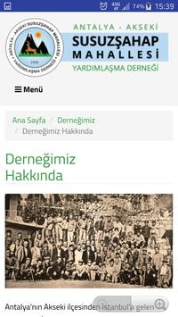 Susuzşahap Köyü Derneği screenshot 2