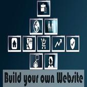 Make your own website(Boost business and earning) icon
