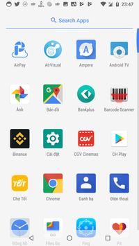 Oreo Android Go Launcher screenshot 1