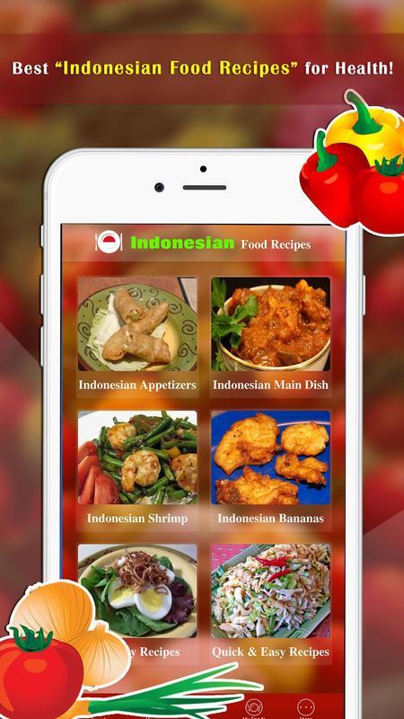 Indonesian food recipes descarga apk gratis salud y bienestar indonesian food recipes poster forumfinder Gallery