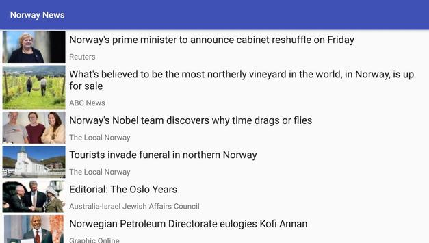 Norway News screenshot 1