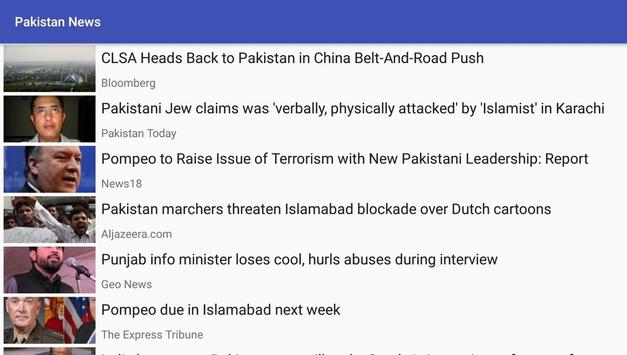 Pakistan News screenshot 1