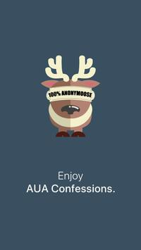 AUA Confessions poster