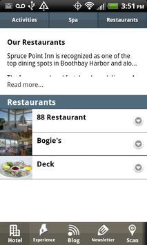 Spruce Point Inn screenshot 1