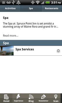 Spruce Point Inn screenshot 2