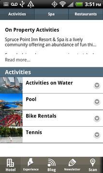 Spruce Point Inn screenshot 3