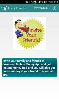 Mobile Money screenshot 1