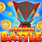 🏃Super Sonic-Battle - Runner icon