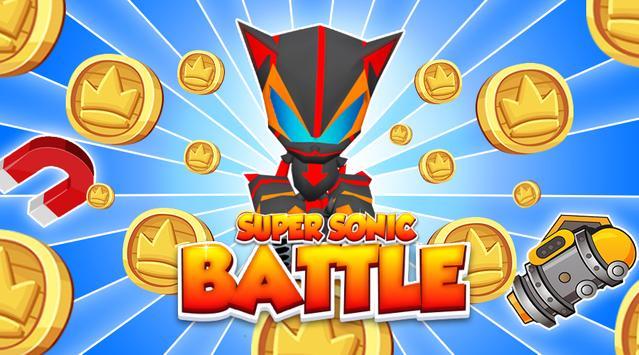 🏃Super Sonic-Battle - Runner poster