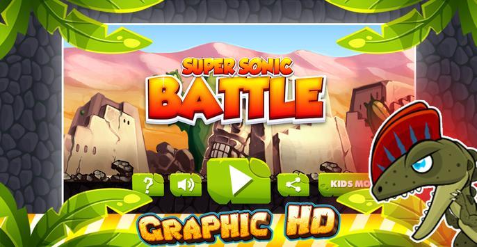 🏃Super Sonic-Battle - Runner apk screenshot
