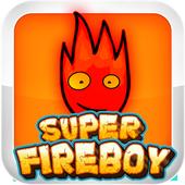 Super Fireboy 🔥 Jungle Run 🌊 icon
