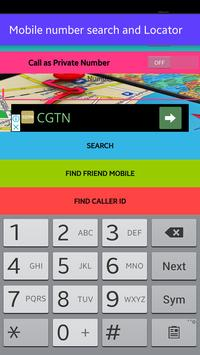 Mobile Number Search poster