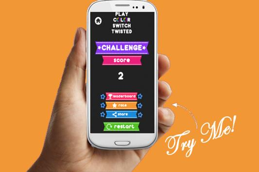 ... Play Color Switch Twisted apk screenshot ...