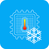 Cooling CPU - Cooler phone icon