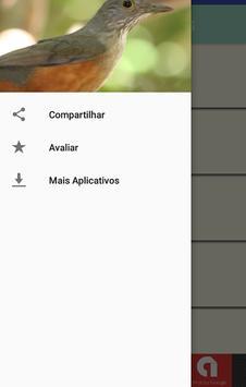 Cantos de Sabiás apk screenshot