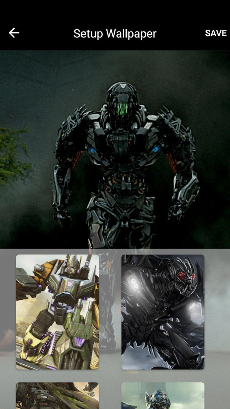 Transformers Lock Screen Photo poster