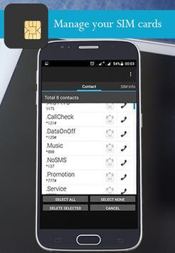 SIM Card Manage screenshot 1