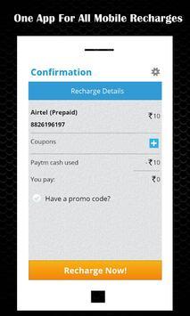 Mobile Recharge App apk screenshot