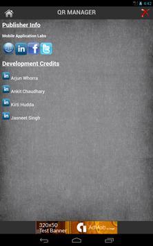 QR Manager screenshot 4