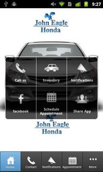 John Eagle Honda Houston poster