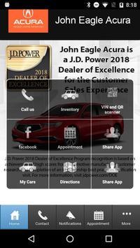 John Eagle Acura poster