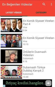 En Beğenilen Videolar poster