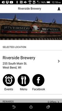 Riverside Brewery poster