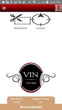 Vin Rewards Club poster