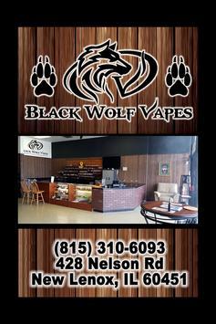 Black Wolf Vapes poster