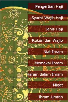Panduan Ibadah Haji dan Umrah poster