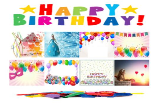 Free Birthday Card poster