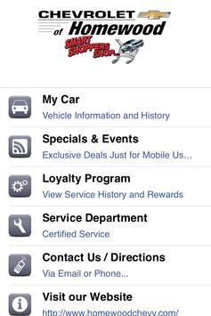 Chevrolet of Homewood apk screenshot