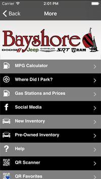 Bayshore CDJR apk screenshot
