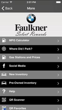Faulkner BMW apk screenshot