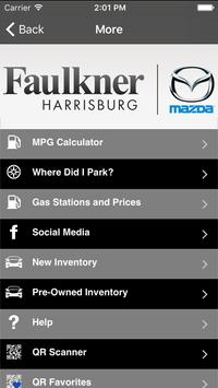 Faulkner Mazda Harrisburg screenshot 1