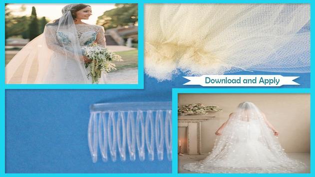 Classic DIY Wedding Veil Tutorial poster
