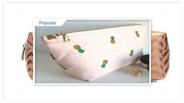 Cute Makeup Bags Ideas screenshot 1