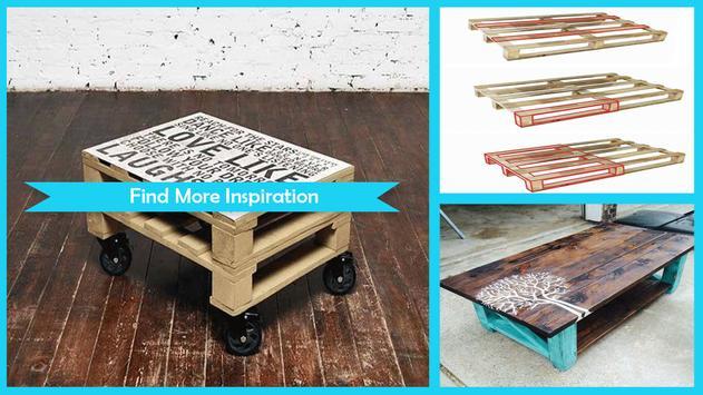Easy DIY Pallet Coffee Table Tutorial poster