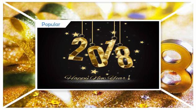 Happy New Year 2018 apk screenshot