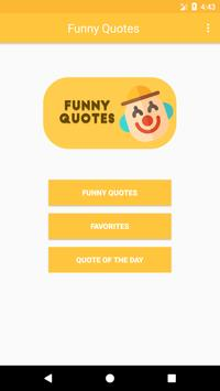 Funny Quotes 2018 poster